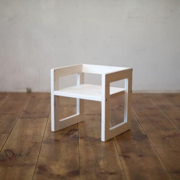 Dětská židle Just White