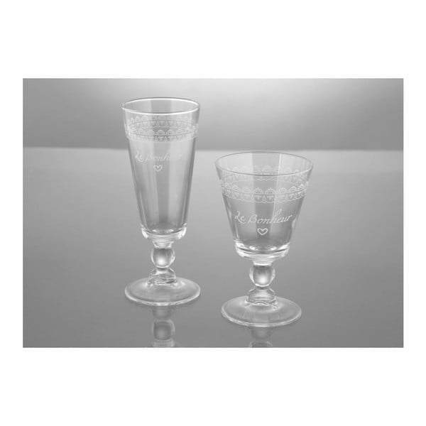 Sada 6 sklenic Le Bonheur