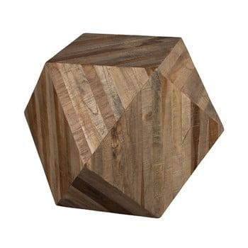 Măsuță din lemn Dutchbone Geo de la Dutchbone