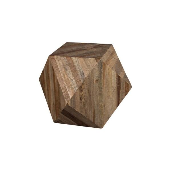 Dřevěný odkládací stolek Dutchbone Ego