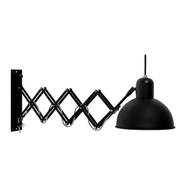 Černá nástěnná lampa Citylights Aberdeen