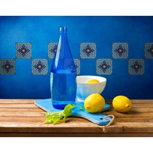 Samolepky Tile Art Blue Symbols