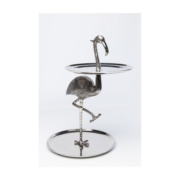 Servírovací stolek s tácy Kare Design Flamingo