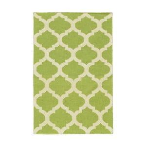 Ručně tkaný koberec Kilim JP 11212 Green, 90x150 cm