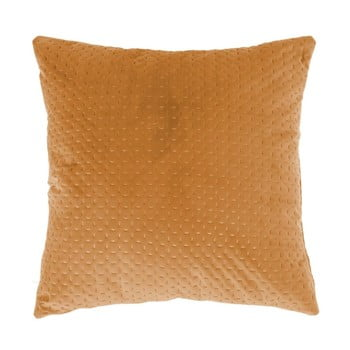 Pernă Tiseco Home Studio Textured, 45x45cm, galben închis imagine