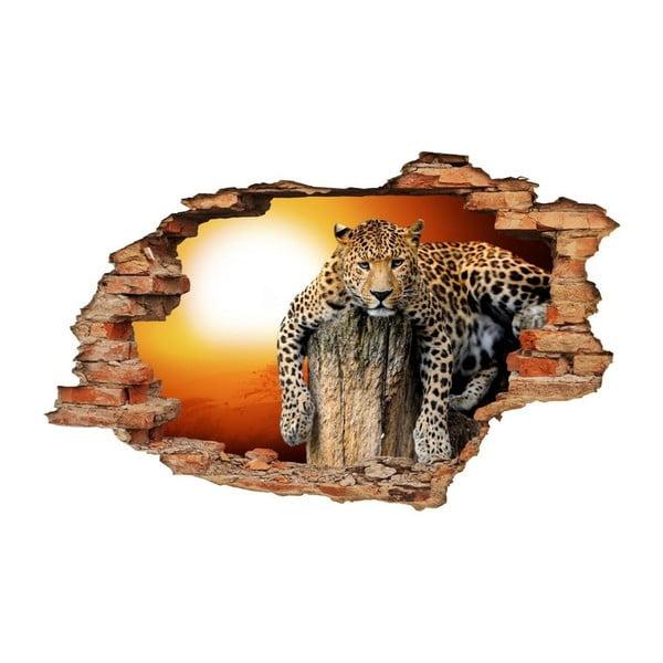 Samolepka Ambiance Landscape Leopard, 60 x 90 cm
