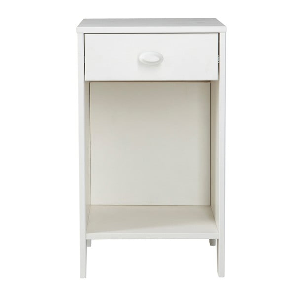 Noční stolek Emma, bílý