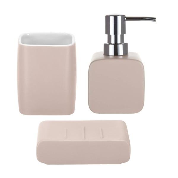 Koupelnový set Cubic Pink