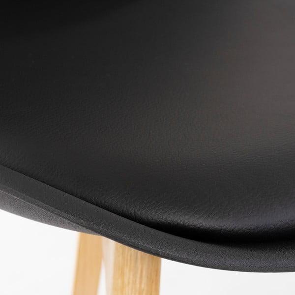 Scaun loomi.design, negru