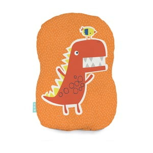 Bavlněný polštářek Moshi Moshi Funnysaurus, 40x30cm