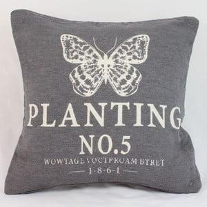 Potah na polštář Planting 40x40 cm, tmavý