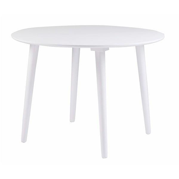 Lotte fehér gumifa étkezőasztal - Rowico