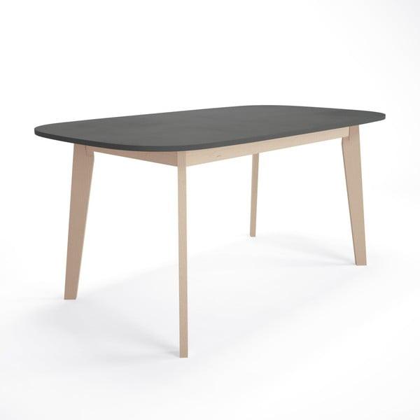 Rozkladací jedálenský stôl z brezového dreva Artemob Illy