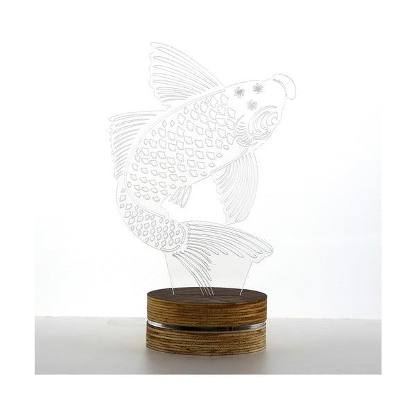 3D stolní lampa Big Fish
