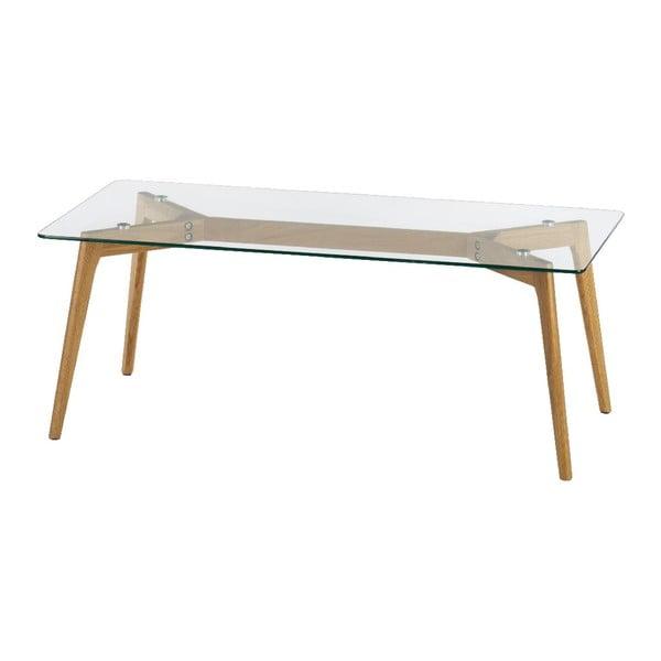 Konferenční stolek Glass, 120x60x45 cm