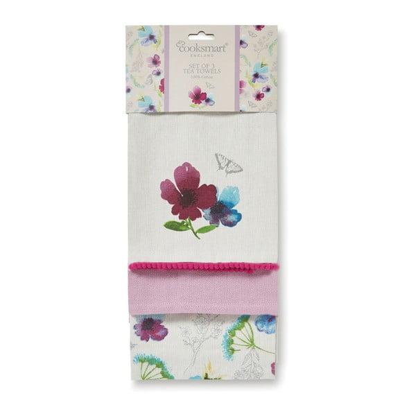 Chatsworth Floral pamut konyharuha, 3 db - Cooksmart ®