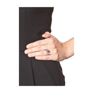 Dámský prsten ve stříbrné barvě NOMA Goldie