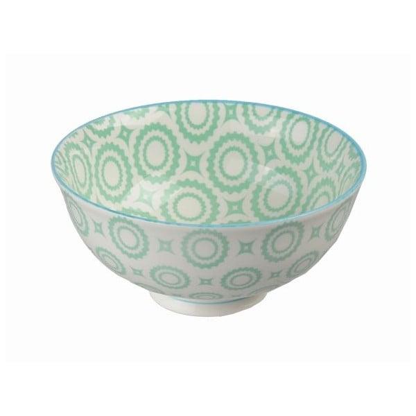 Porcelánová miska Colored Green, 12x5,6 cm