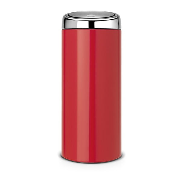 Dotykový odpadkový koš Touch Bin, 30 l, vášnivá červená