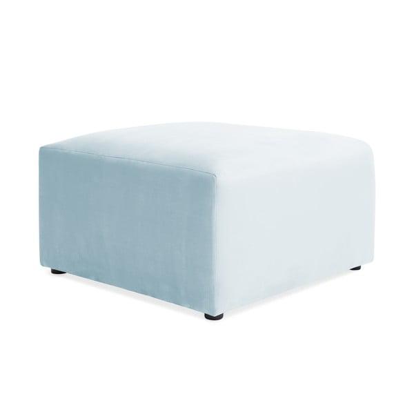 Nebesky modrá podnožka Vivonita Velvet Cube