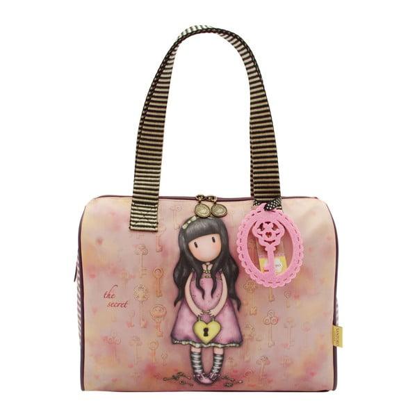 Růžová dětská kabelka do ruky Santoro London Secret
