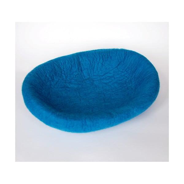 Plstěný pelíšek pro psa Ulita blue