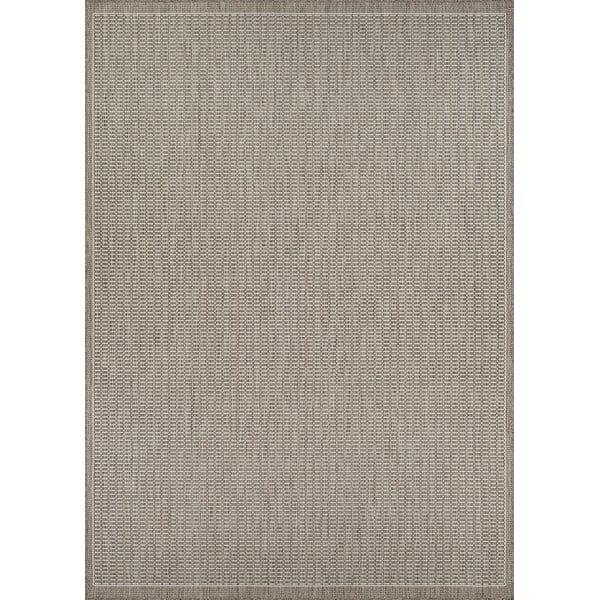Béžový venkovní koberec Floorita Tatami, 180 x 280 cm
