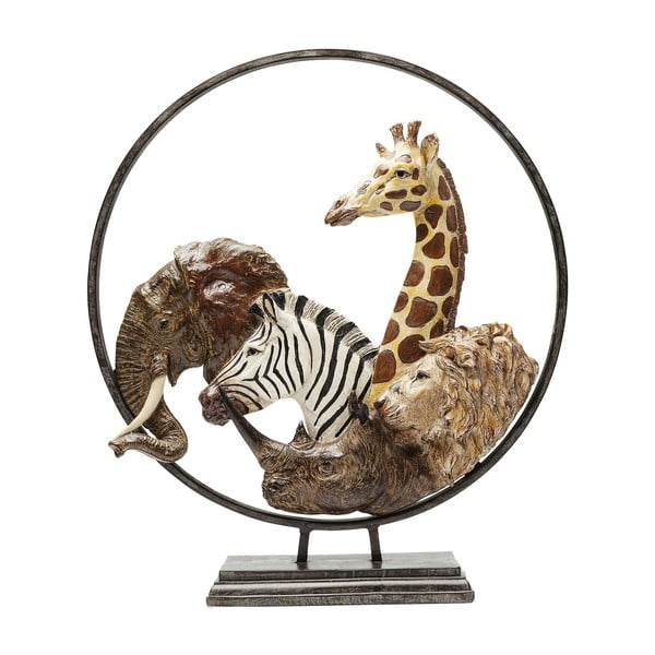 Animal Circle dekorációs szobor, magasság 57 cm - Kare Design