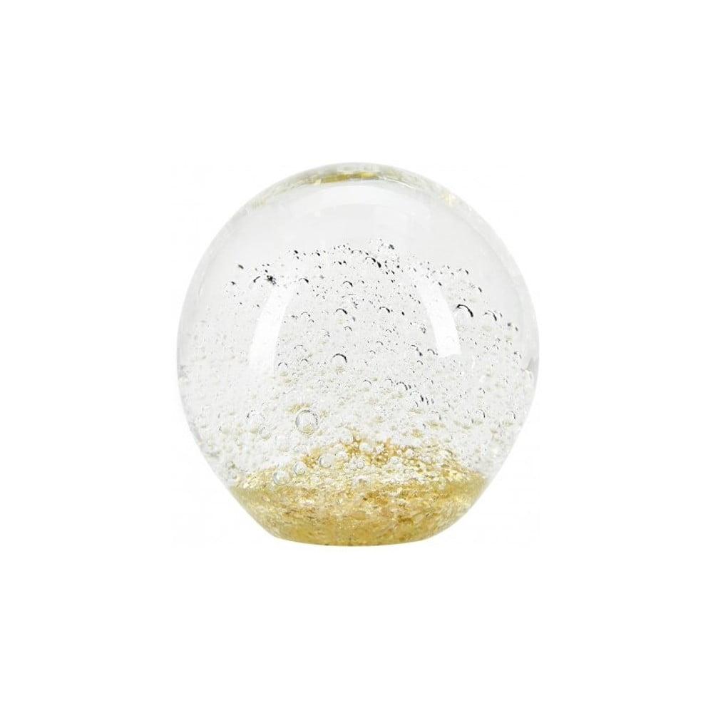 Skleněné těžítko Miss Étoile Bubbles, Ø 10 cm