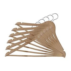 Sada 6 dřevěných věšáků Bonita Somopak Basic