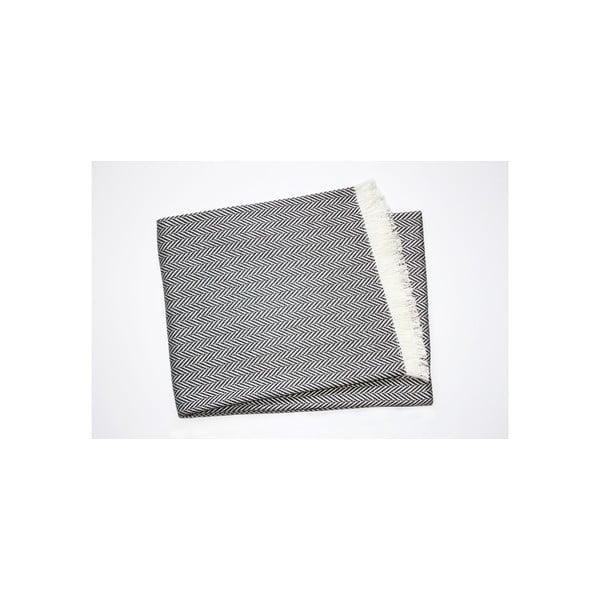 Lehká deka Skyline Dark Grey, 140x250 cm