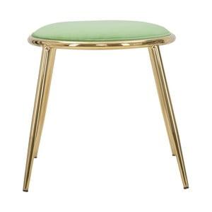 Světle zelená stolička Mauro Ferretti Emily, ⌀ 45 cm