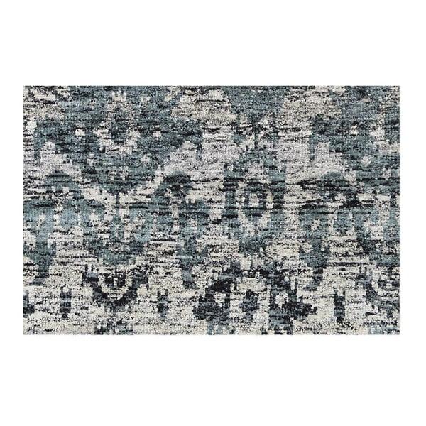 Koberec Ikat Charcoal, 160x230 cm