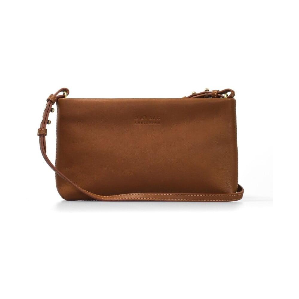 Hnědá kožená kabelka O My Bag Daisy