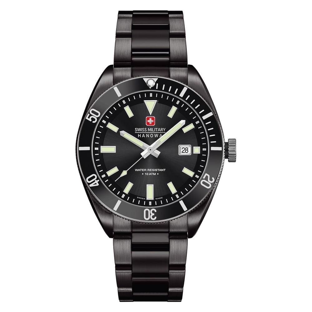 140fcebe7 Čermé pánské hodinky Swiss Military Hanowa   Bonami