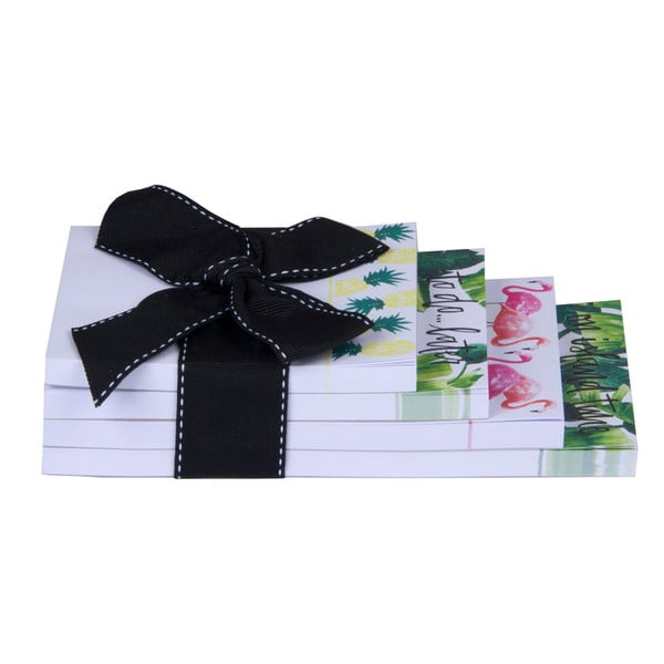 Set 4 bloc notes Tri-Coastal Design Palm Beach Chic