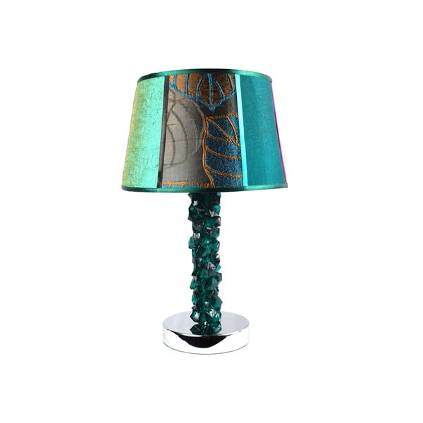 Stolní lampa Crystal Bottle Dark Green