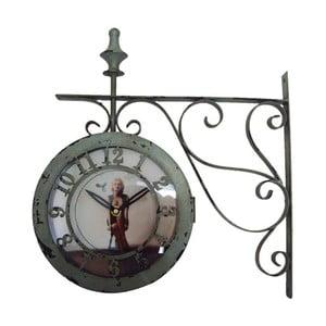 Nástěnné hodiny Ferro Marilyn, 37x38x10 cm
