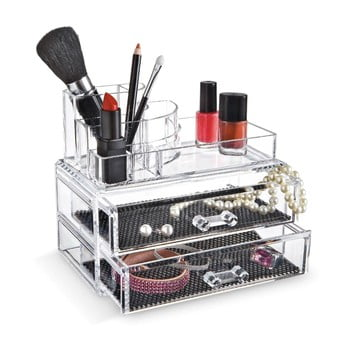 Organizator cosmetice cu compartimente Domopak Make Up