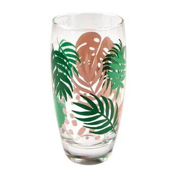 Pahar sticlă Rex London Palm Leaf, 350 ml de la Rex London