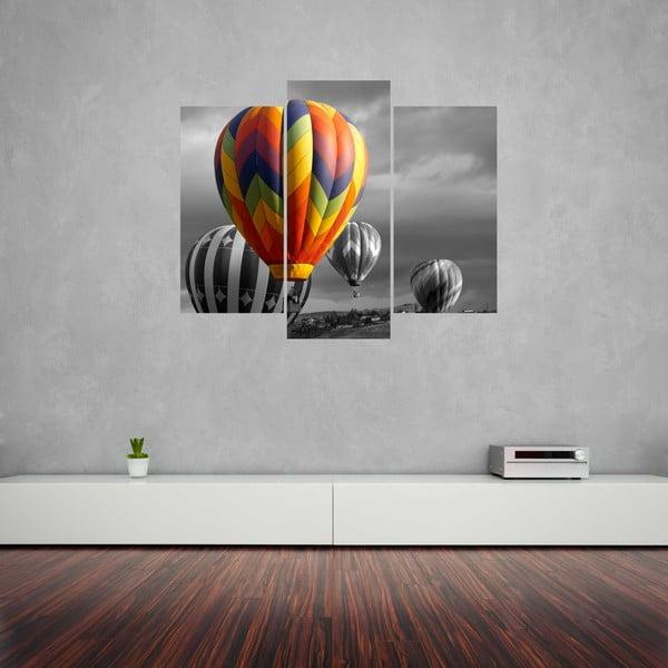 3dílný obraz Balloon