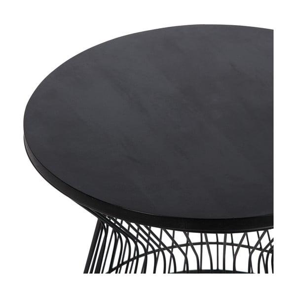 Odkládací stolek Hourglass Black
