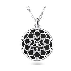 Náhrdelník se Swarovski Elements Saint Francis Crystal Face Stone
