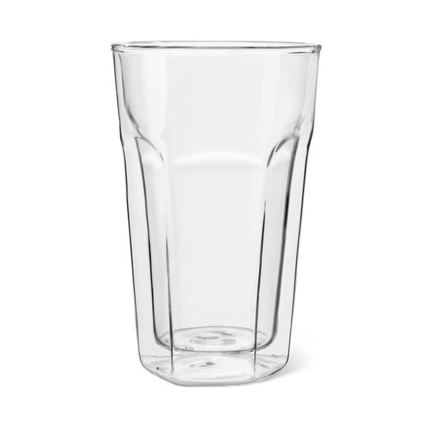 Sada 2 dvoustěnných sklenic Bredemeijer Latte Macchiato, 350 ml