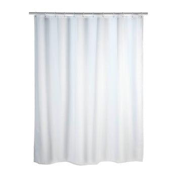 Perdea duș Wenko, 180 x 200 cm, alb imagine