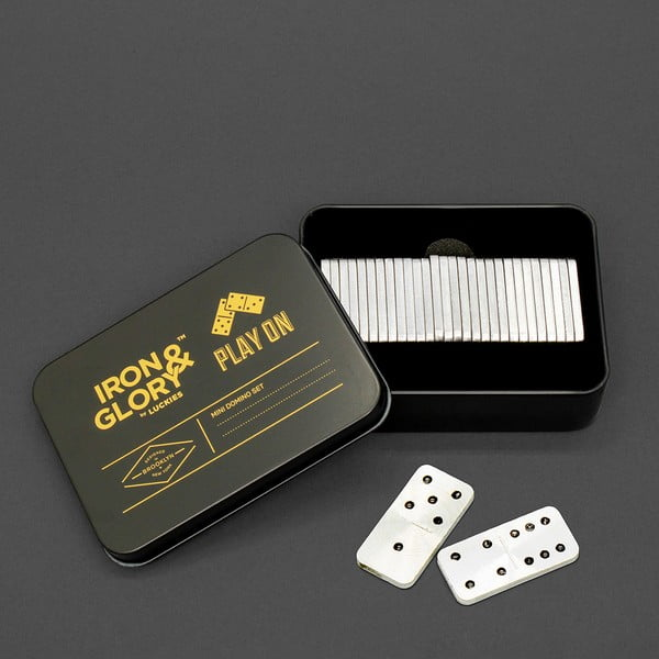 Zestaw do gry w domino Luckies of London Play On