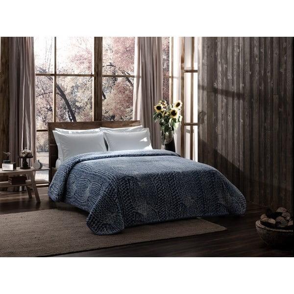 Deka Blue Knit, 220x240 cm