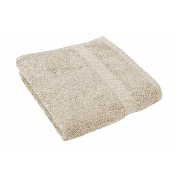 Piaskowy ręcznik Tiseco Home Studio, 50x100 cm