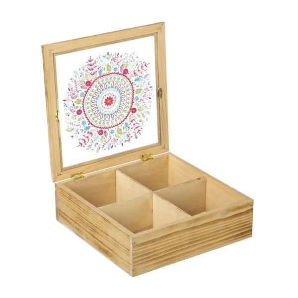 Krabička na čaj/šperkovnice Mandala