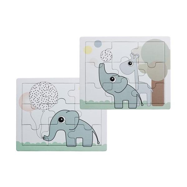 Sada 2 dětských puzzlí Done by Deer Elphee a Raffi